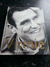 Vinnie jones autobiography