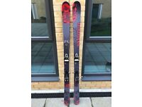 Salomon Lord Skis, bindings, poles and bag