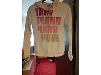 Puma hoodie size 12