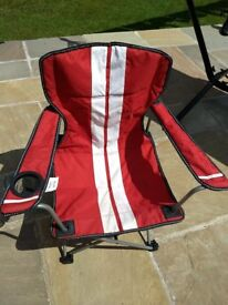 Kids Camping Chair & Carry Bag