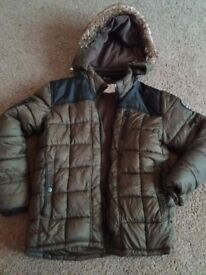 Boys winter coat age 12-13 years