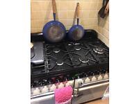 Le creuset antique frying pans