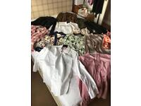 Various ladies shirts and blouses