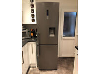 SAMSUNG frost free Fridge Freezer - Manhattan Silver, can deliver