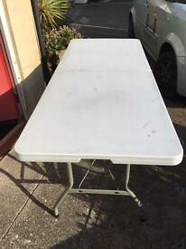Market Stall Trader 6FT Folding Plastic Table x 2