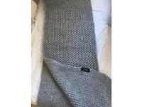 Zara grey scarf.