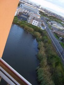 8th Floor Fully Furnished 1 bedroom deluxe apartment with a balcony, including Water Rates/Bill