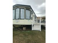Willerby static caravan 2002 sited at havens Doniford bay park Watchet .