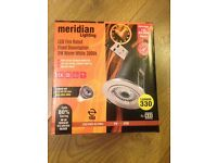 4 brand new, unused Meridian downlights