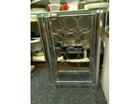 Wine rack glass metal #33510 £20