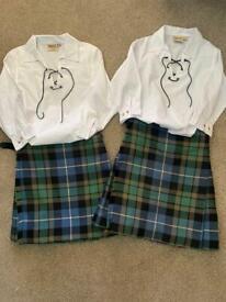 Boys Kilts and shirts