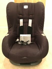 Excellent condition - Britax Römer ECLIPSE Group 1 (9-18kg) Car Seat (Cosmos Black)