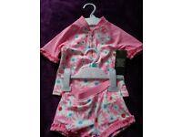 9-12 girls swim suit
