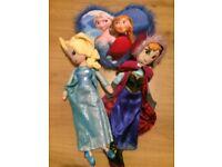Disney frozen dolls cushion bundle