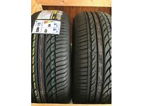 brand new 205/55/16 tyres, VW STARTER, avon tyre, strap and ratchet