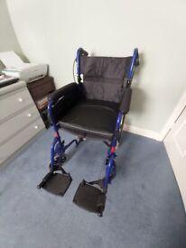 Alu Lite wheelchair