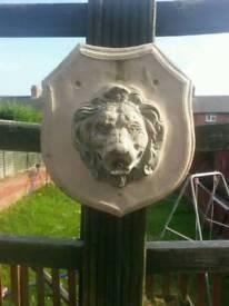 Lion water fountain no pump