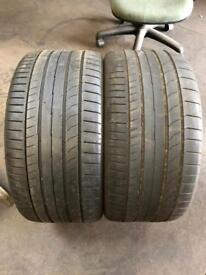 255 30 19(91Y) Continental ContiSportContact 5P MO Extra Load 4mm-5mm