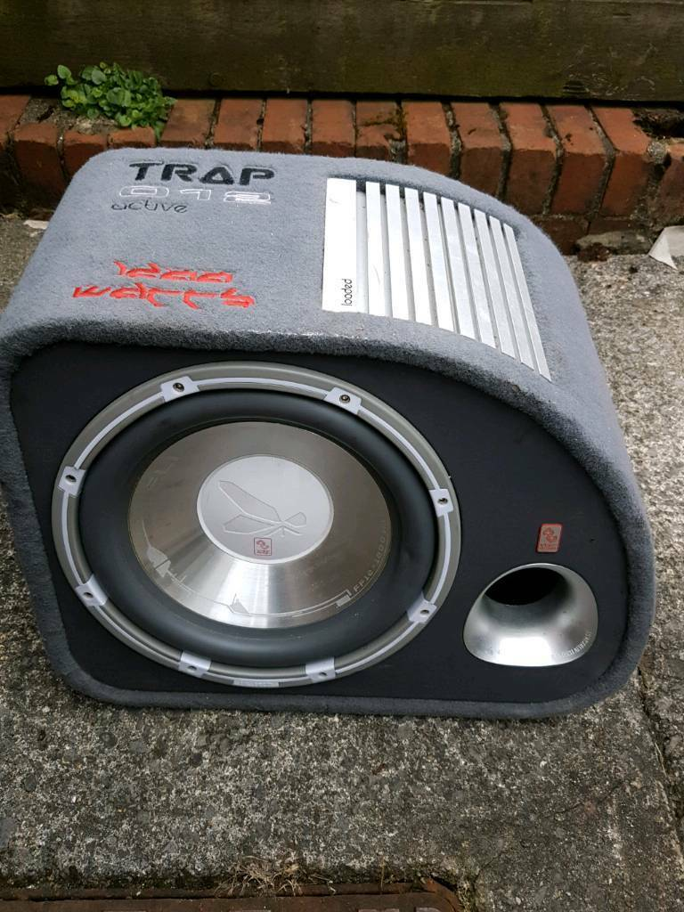 Fli 1200 Watts Subwoofer Boom Box And Give 1500watts Amplifier Wiring Kit In Bridgend Gumtree