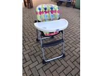 Chicco polly high chairs x 2
