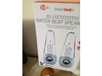 Bluetooth speakers water light s up