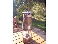 Miners Lamp -Brass and Steel - Type 1A - Reduced