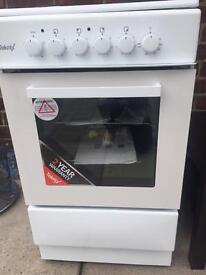 NEW Teknix electric cooker , instructions and cable for fitting.