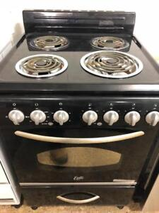 "Epic 24"" Wide Coil Top Black Stove, Free 1 Year Warranty, Save The Tax Event"