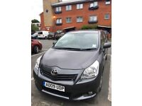TOYOTA COROLLA VERSO 2009 NEW SHAPE 7 SEATER