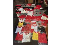 Liverpool fc clothes job lot jackets jumpers and tshirts