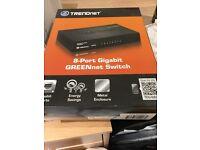 Internet 8 port gigabit switch/ router