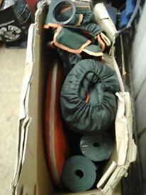 BNIB Pop 2 man up tent, chairs, sleeping bagsand matts in a bundle