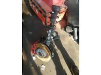 Vw golf mk7.5 gti front passenger suspention leg complete