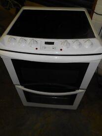 60cm zanussi Electric Ceramic Cooker in vgc .free local delivery