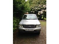 Ford Ranger 4x4 Executive cab March 2005 silver registration 1 owner from march 2005 dual hitch
