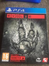 PS4 - Evolve.