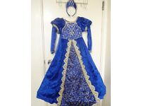 Girls Blue Dress age 7-8 could be used for Fairy, Angel, General dress up, Worldbook day