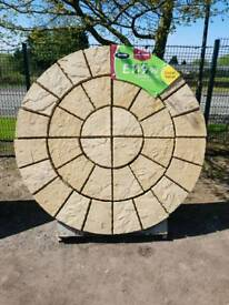 CATHEDRAL CIRCLE 1.8M DIAMETER PATIO PAVING FEATURE KIT ONLY £124.99 EACH