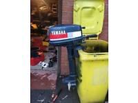 Yamaha 4hp 2 stroke longshaft outboard