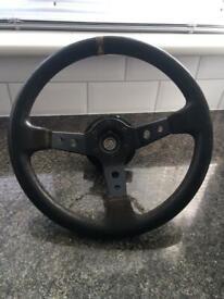 Aftermarket steering wheel