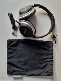 Bose AE2 over ear audio headphones wired