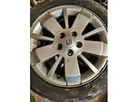 Renault alloys 16inch silver