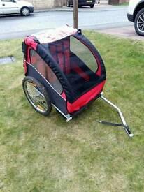 Children's bike trailer / jogger buggy