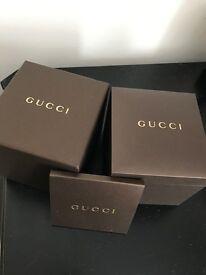 Genuine Gucci Watch box
