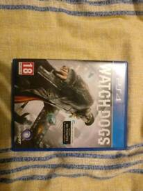 Watch dogs, Dying light, Uncharted 4, PS4 games