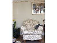 Comfortable arm chair as new