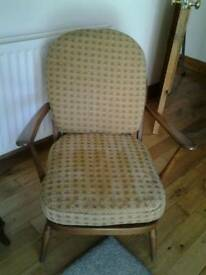 ERCOL SUITE FOR SALE 2 CHAIRS AND 3 SEATER