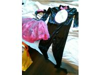 Halloween cat costume 7-8