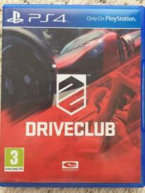 DriveClub - PS4 - Very Good Condition