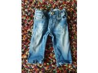 Diesel jeans baby boy 3-6 months